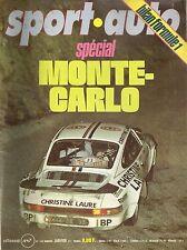 SPORT AUTO 180 1977 BILAN F1 1976 RALLYE MONTE CARLO ALPINE A442 RAC RALLY LIGIE