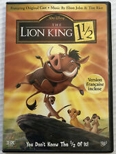 The Lion King 1 1/2 (DVD, 2004, Disney) Canadian