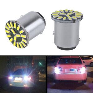 2x LED S20 1157 Back Up Lights Brake Lamp Bulbs 12V for Ford Ranger 2012-2017