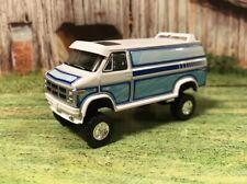 1983 GMC Vandura Van Lifted 4x4 Custom 1/64 Diecast Farm Truck Off Road Mudder