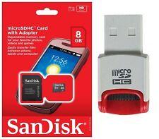 SanDisk 8GB MicroSD Micro SDHC TF Class 4 Memory Card for Sony Xperia Z3 Z2a ZL