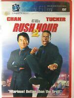 Rush Hour 2 II DVD Movie 2001 Jackie Chan Chris Tucker Comedy Infinifilm Ratner