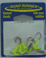 Blakemore C152-012 Road Runner Bleeding Hook Head 1/16 oz Chartreuse 4CT 24796