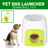 Pet Dog Tennis Ball Launcher Thrower Toy Automatic Interactive Fetch Chucker