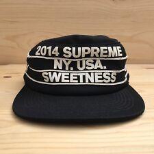 69e0203ea0a SUPREME SWEETNESS PILLBOX SNAPBACK CAMP CAP FIVE PANEL HAT PCL ACID FW 2014