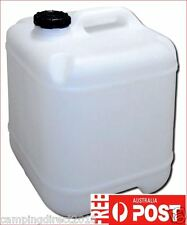 20 LT Water Storage Jerry Can Cube Container Plastic Drum Tank Camping Caravan