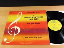 Jazz Funk SOUTHERN UNIVERSITY STAGE BAND In A Soul Session WHIT WLP-711 VG++/NM-