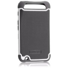 SET OF 2  Motorola ATRIX HD MB886 Case Grey Silicone Skin Jelly Cover  Ballistic