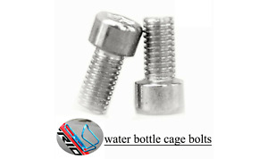 Stainless Steel MTB Road Bike Water Bottle Cage Holder Screws Bolts  FROM CANADA