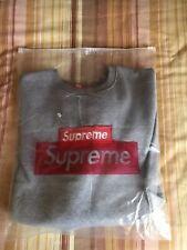 Felpa  supreme Box Logo girocollo crewneck