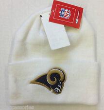 NWT NFL St. Louis Rams Reebok Winter Knit Cuffed Hat Cap NEW! SEE DESCRIPTION!