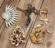 Vintage Bulk Lot Costume Jewellery Womens AF Wounded Spares Repair Sterling Ring