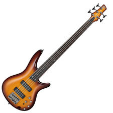 Ibanez SR375EF Soundgear 5-String Fretless Bass Guitar - Brown Burst