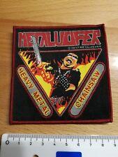 METALUCIFER Heavy Metal ChainsawPatch Aufnäher