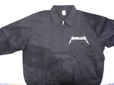 "METALLICA BRAND NEW Metalli""Fukin""ca Embroidered Work Jacket Size L"