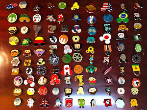 Lot of 100 Disney Trading Pins Exactly As Pictured No Doubles DisneyWorld Trader