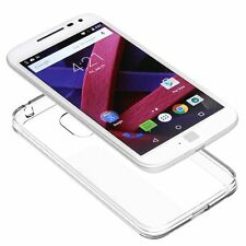 Case For Moto G4 Play Exact【Prism】Protective Transparent Bumper Case Clear