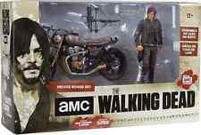 THE WALKING DEAD TV SERIES ACTION FIGURE DARYL DIXON w/ AVEC CUSTOM BIKE