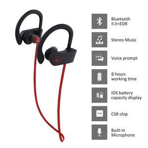 Universal Sport 5.0 Bluetooth Earphone Wireless Stereo Earhook Headset Headphone