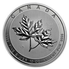 2017 Canada 10 oz Silver $50 Magnificent Maple Leaves BU - SKU #117815