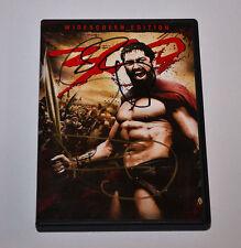 300  DVD Signed FRANK MILLER  Autographed GERARD BUTLER
