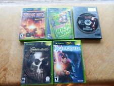 XBox LOT of 5 Games-Crimson Skies,Munch's Oddysee,Enclave,NightCaster,Turok