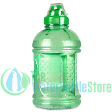 32oz 1 Liter  BpA Free Plastic Reusable Water Bottle w/ Sports Top Handle Green