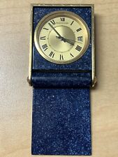 1960's Jaeger Lecoultre Lapis Mini Travel Alarm Clock