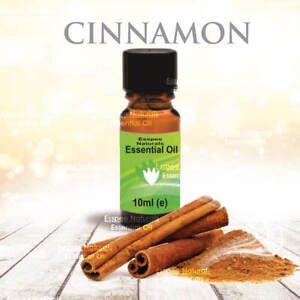 Cinnamon Essential Oil 10ml - 100% Pure - For Aromatherapy & Home Fragrance