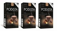 Hot Chocolate Nespresso Compatible Capsules Hot Cocoa Pods - Hazelnut (30 pods)