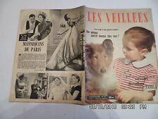LES VEILLEES N°127 FILM MANNEQUIN DE PARIS MADELEINE ROBINSON ROMANS MODE   I94