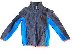 Boys Regatta Zip Up Fleece Size 7/8yrs