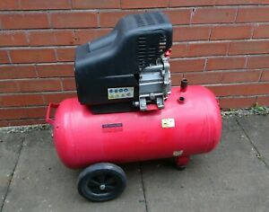 Working 50L 2hp air compressor with missing parts / project / CASH ONLY