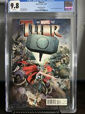 Thor #1 1st Appearance Jane Foster as Thor 2014 NYCC Variant CGC 9.8 Key 🔥