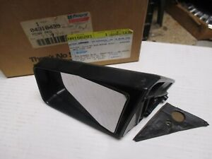 OUTSIDE REAR VIEW MIRROR N.O.S.1981-1989 ARIES+RELIANT MODELS.4318439
