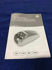 Motorola Wpln4111 Impres Single Unit Charger Owner's Manual Wpln4112, 4113, Etc