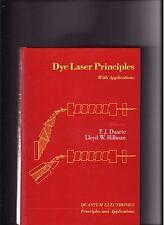 QUANTUM ELECTRONICS: Dye Laser Principles- Applications-ILLUS.-Duarte/Hillman