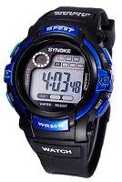 SYNOKE Orologio multifunzionale dell'orologio blu I4C2