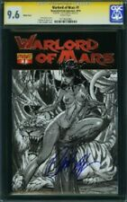 SS CGC 9.6  Warlord of Mars 1 Retailer Sketch Variant Sgnd by Campbell