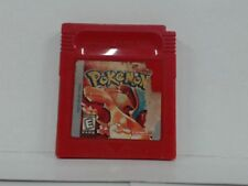POKEMON RED Gameboy Color Scratched