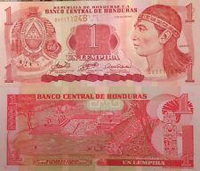HONDURAS 2006 1 LEMPIRA UNC BANKNOTE P-84 INDIAN NATIVE BUY FROM A USA SELLER !!