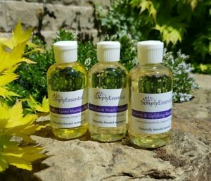 Massage Oil Blends Natural Essential Oils Aromatherapy CHOOSE YOUR BLEND 100ml