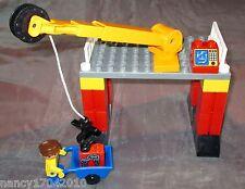 Lego Duplo Verladestation Kran f.Intelli Eisenbahn m. Kranarm Ville  aus 3325