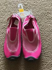 Champion Aqua Socks Pink Active Wear Water Pool Beach Dance Shoes Sz S 13/1 NEW