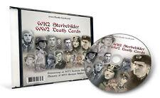 WK2 STERBEBILD CD - insg. 8.373 FOTO SCANS - WWII DEATH CARDS CD