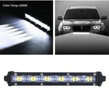 8'' Single Row 60W Car 6000K Xenon White Spot Beam Slim LED Work Light Bar IP68
