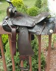 """WESTERN PLEASURE TRAIL SADDLE 15"""" LIGHT WEIGHT ONLY 20LBS EASY RIDER MADE IN USA"""
