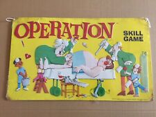 """Operation Skill Game  Collectible Vintage Style Metal Sign 18"""" x 10.63"""" New"""