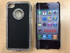 Blink iPhone 4 / 4S Snap On Cover Case in Black/Silver