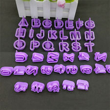 40 Pcs/Set Alphabet Letter Cookie Cutters Cake Decorating Molds Baking Tools
